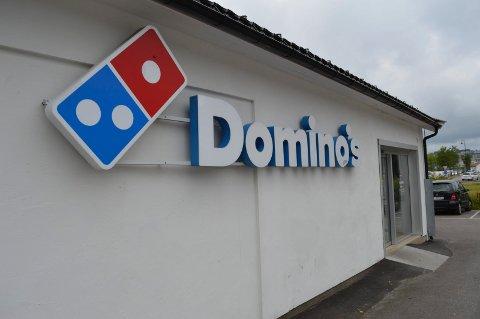 INGEN SUKSESS: Pengene renner ut av Domino's i Norge.