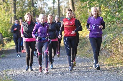 NYKOMMER: i august startet «Sportsjentene» opp i Sandefjord med 50 damer. Nå er øktene godt i gang.
