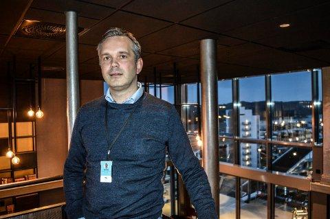 OCC-SJEF: – Min jobb er å lede Oslofjord Convention Center på reisen til full uavhengighet, sier administrerende direktør Stian Fuglset.