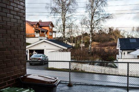 UTBYGGING: I området i bakgtrunnen ønsker Hystadåsen AS å oppføre koknsentrert småhusbebyggelse.