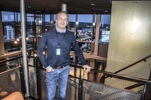 OCC: –Vi har har flere bestilte arrangementer med mer enn 500 deltakere de neste månedene, sier adm.dir. Stian Fuglset i Oslofjord Convention Center.