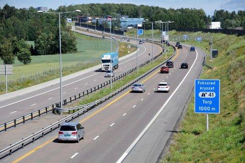 TATT: Den 26 år gamle Sandefjord-mannen ble stoppet to ganger på E18 med narkotika i blodet.
