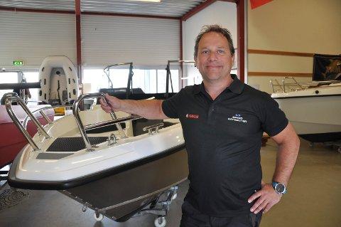 Per Arne Jahren-Andersen, daglig leder Speed Båtsenter.