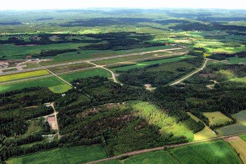 TORP: Kommunal- og moderniseringsdepartementet har avgjort innsigelsesprosessen. Beslutningen tillater næringsutvikling på den nordre delen, men ikke på den sørlige.