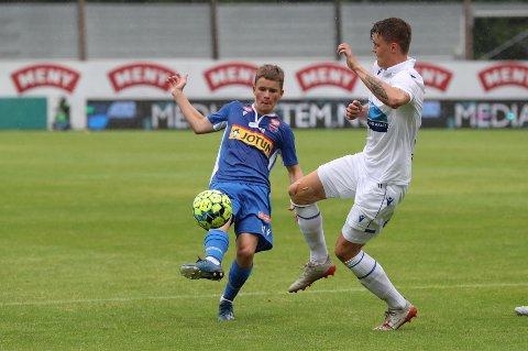 MED I TROPPEN: Peder Meen Johansen fikk flere kamper for SF i Eliteserien i fjor. I dag er han med i troppen for klubbens G19-lag når de møter Rosenborg i kvartfinalen i NM.