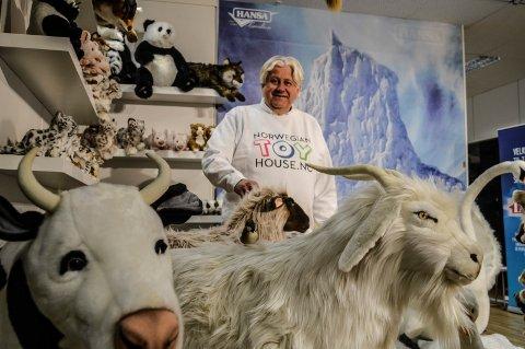LEKETØY: Prosjektansvarlig for Norwegian Toy House, Trond Berntsen, gleder seg over at leketøyshuset på Pindsle får enda mer plass fra september.