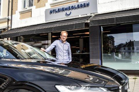 IGANG: Karsten Olsen er 15 prosents eier og daglig leder i Utleiemegleren Sandefjord AS.