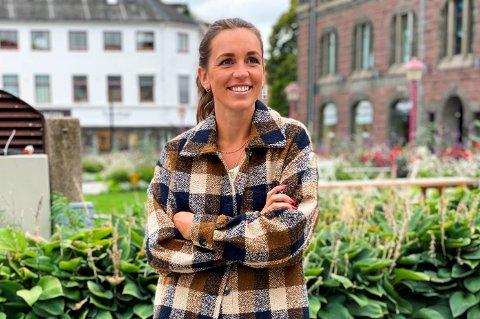 UTVIDET BUTIKKDRIFTEN: I 2016 etablerte Helene Fon Rosén (30) klesbutikken Dixi i Sandefjord sentrum. I fjor sommer så  nettbutikken med samme navn dagens lys. – Nå sender jeg varer til kunder i hele Norge, forteller Helene.