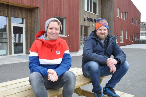 LYNINNSAMLING: Frode Aleksander Rismyhr og Bjørnar Gaasholt ba om støtte til et viktig formål - og responsen uteble ikke.