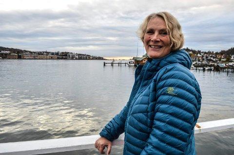 TILGJENGELIGHET: – Det er rådmannens mål at folk skal kunne spasere fram og tilbake til by'n på en sammenhengende kyststi langs den indre delen av Sandefjordsfjorden, sa Inger Line Birkeland til planpolitikerne.