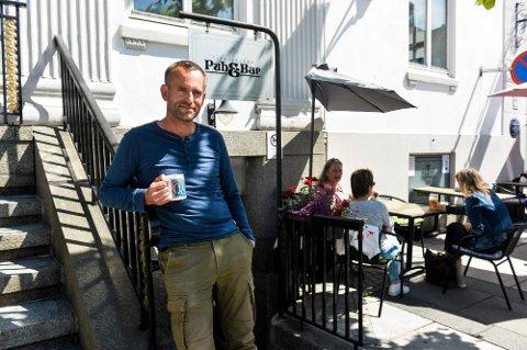 ÅPNER IGJEN: Daglig leder ved Atlantic selskapslokaler, Ole Anders Kringli Liverød kan igjen åpne dørene til Tic-Kjelleren. ARKIVFOTO: Atle Møller