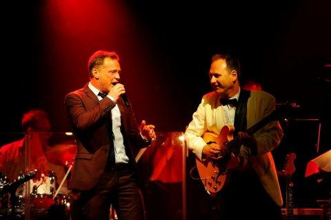 TRE UTSOLGTE: I 2020 ble konsertene med Heine Totland, Hans Mathisen og Sandefjord Storband utsolgt tre ganger. Det kan se ut til å gjentar seg også i år. ARKIVFOTO: Ann Kristin Haugen Saastad