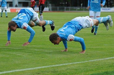 Sandnes Ulf møter FK Haugesund til treningskamp tirsdag.