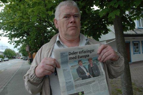 OPPGITT: Nestleder i Figgjo bydelsutvalg, Tron Håland, er oppgitt over at ordføreren holder foredrag på en Sunn-by konferanse om hvor godt kommunen ivaretar de unges interesser.
