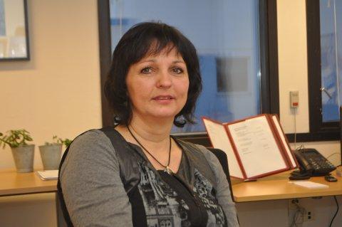 VEILEDER: Sykepleier Evy Ann Helle er ansatt som kreftkoordinator i Sandnes kommune.