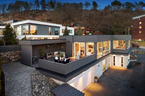 Denne boligen på Austrått gikk for rett under ti mill. etter første visning.