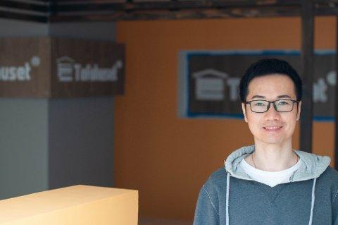 Terry Lu laget tofu til vennene sine, men ble oppfordret til å starte egen butikk. Nå vil han åpne Tofuhuset i St. Olavs gate 18A.