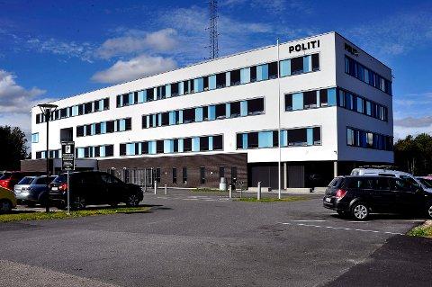 HOVEDSETE: Politihuset på Grålum kan bli hovedsete for hele det nye Øst politidistrikt.