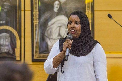 LISTEKANDIDAT: Naima Alasow har fått en plass i bystyret for Arbeiderpartiet.