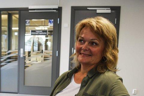 I rute: Heidi Brodal forsikrer at flyttingen har gått bra.