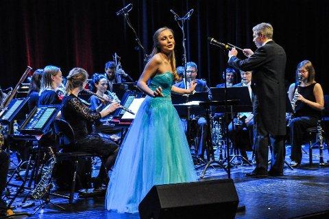 Fjorårets vinner: Emilie Hellum Johansen.
