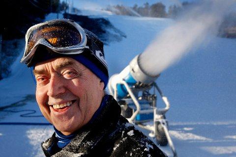 KJERRINGÅSEN: Leif Skaar er mannen bak eventyret Kjerringåsen Alpinsenter. Nå er han nominert til Østfoldprisen 2017.