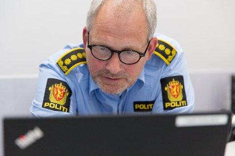 Politiinspektør i Øst politidistrikt Tommy Brøske.