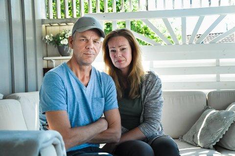 LEI: Lite informasjon og dobbeltfakturering. Helge Larsen og samboeren Anita Sundbrei føler seg dårlig behandlet.