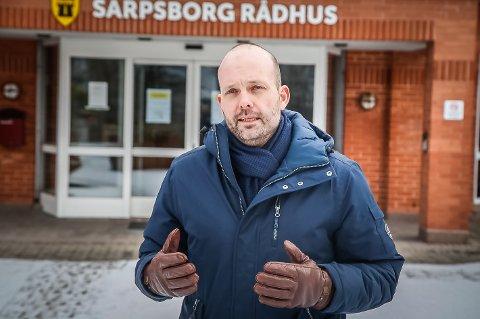 MYE SMITTE: – Vi har hatt et stort smittetrykk i Sarpsborg siden november, påpeker ordfører Sindre Martinsen-Evje.