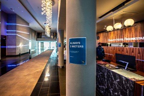 Karantenehotell på Quality-hotell på Grålum.