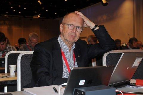 Anders Skattkjær er nestleder i Fellesforbundet.