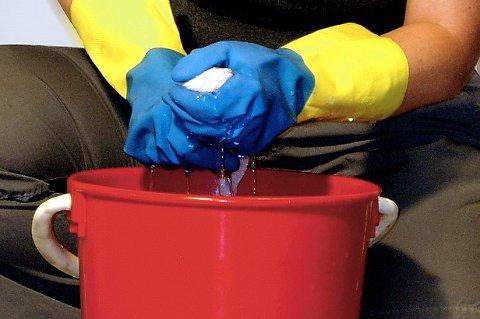 Det viktigste å huske på ved rengjøring av tregulv er å bruke lite vann. Vann som blir liggende på gulvet, kan misfarge skjøter og få trematerialet til å svelle.