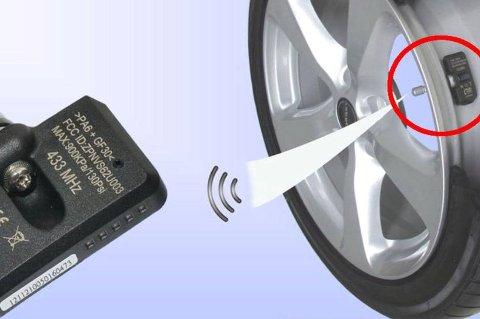 *** Local Caption *** Dekktrykks-sensor ble påbud på alle nye biler i fjor. Disse går på batteri, og batterier har som kjent den egenskapen at de må byttes av og til.