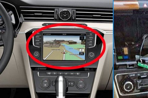 Banden går etter navigasjonsenheten i biler fra Volkswagen-konsernet. Framgangsmåten tyder på at dette er svært profesjonelle folk.