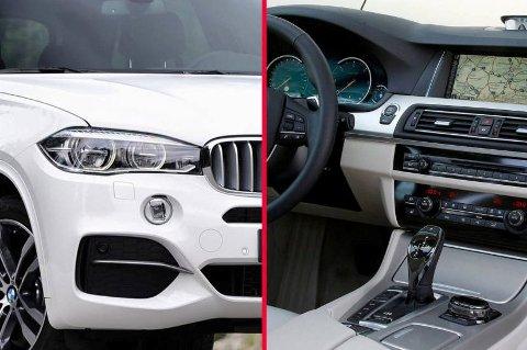 BMW kommer til å utgjøre en stor del av bilparken til politiet framove, både BMW X5 og 5-serie. I tillegg kommer det en hel del Mercedes  mens Volvo XC70 blir hundepatruljebilen.