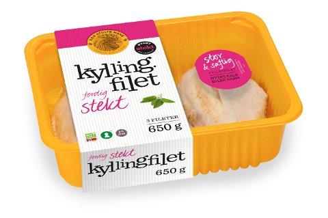 *** Local Caption *** Den Stolte Hane tilbakekaller et parti kyllingfillet etter at det er påvist listeria i produktet.