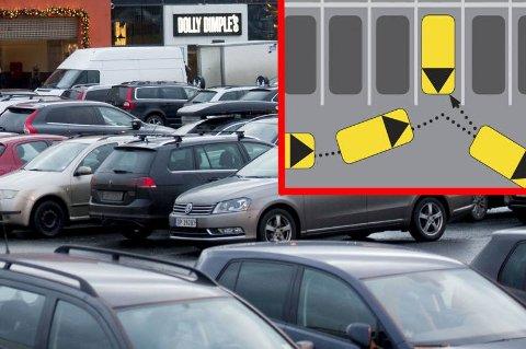*** Local Caption *** Bulkeskader på parkeringsplasser er det mye av i disse dager. Men du kan enkelt redusere risikoen for dette.