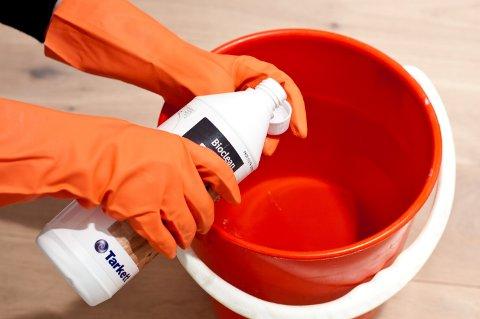 Mange tar seg tid til litt ekstra rengjøring i hjemmet før jul.