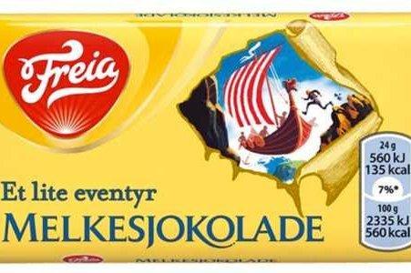 Freia Melkesjokolade Eventyr 24g trekkes fra markedet.