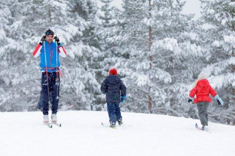 Vi er veldig opptatt av trening og friluftsliv og bruker mye penger på sportsutstyr. (Illustrasjonsfoto: Vidar Ruud, NTB scanpix/ANB)