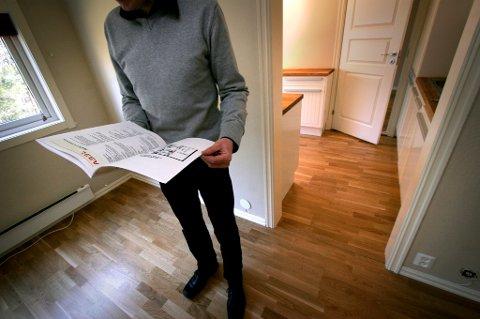 Én av fire norske single eier ikke egen bolig. (Foto: Jarl Fr. Erichsen, NRK scanpix/ANB)