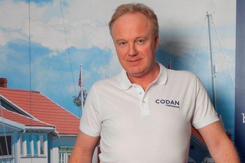 Fagansvarlig for båt i Codan Forsikring, Stein Victor Svendsen.