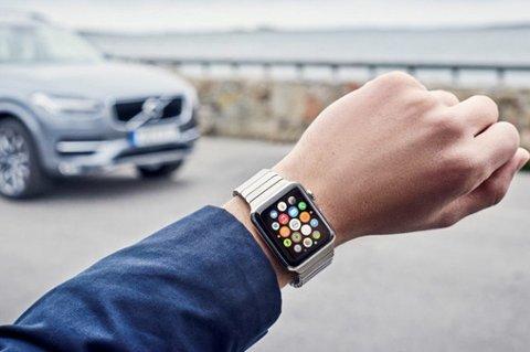 Snart kan du styre Volvoen din med klokka.