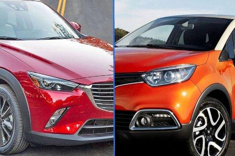 Crossoverne kommer for fullt i Europa. Det er ventet en dobling i salget innen 2018. Mazda CX-3 og Renault Captur får stadig flere konkurrenter.