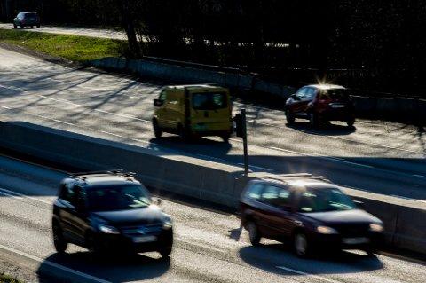 Oslo  20150414. Illustrasjonsbilder av en bomstasjon i Oslo tirsdag ettermiddag. Bomring. Autopass. Biltrafikk. Foto: Vegard Wivestad Grøtt / NTB scanpix