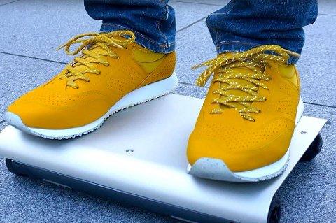 WalkCar skal være tidenes minste elektriske kjøretøy.