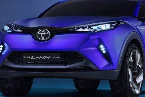Ikke akkurat et design du forventer fra Toyota. Men også her i gården tenkes det nå sprekt og nytt.