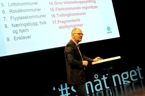 Geir Vinsand mener regjeringen gir altfor lite til å ville gå inn for kommunesammenslåing.