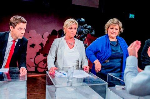 KrF-leder Knut Arild Hareide er indignert over finansminister Siv Jensen. Det kan få følger for statsminister Erna Solberg.