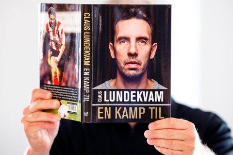 Den tidligere fotballproffen Claus Lundekvam er aktuell med boken «En kamp til».